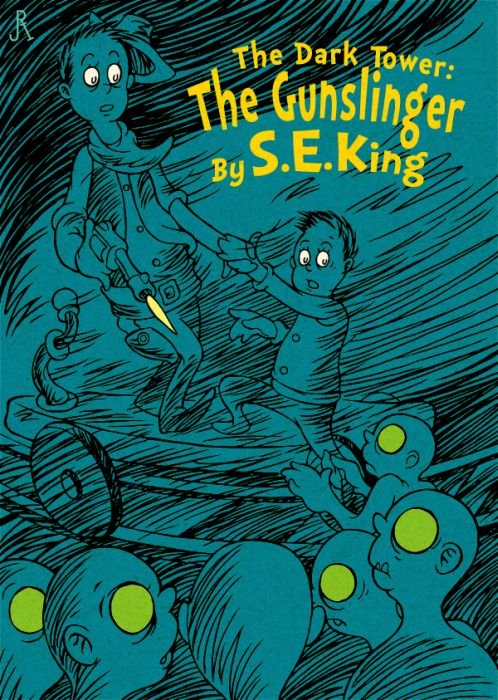 Video Game and Sci-fi Dr. Seuss Children's Book Covers