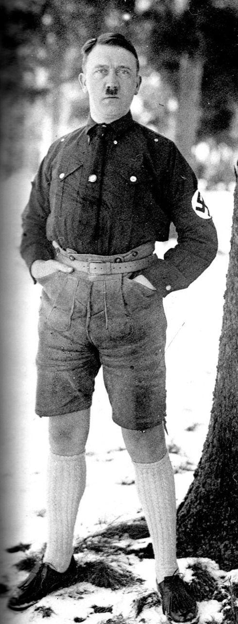 Hitler in Shorts