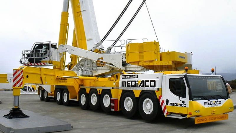 The world's largest crane