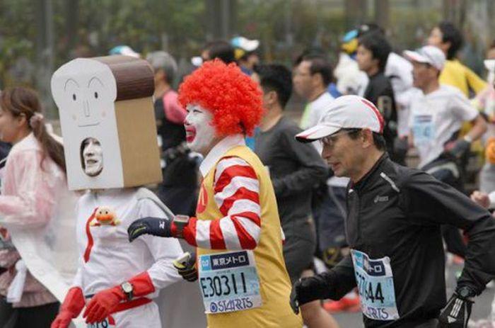 People of the Tokyo Marathon