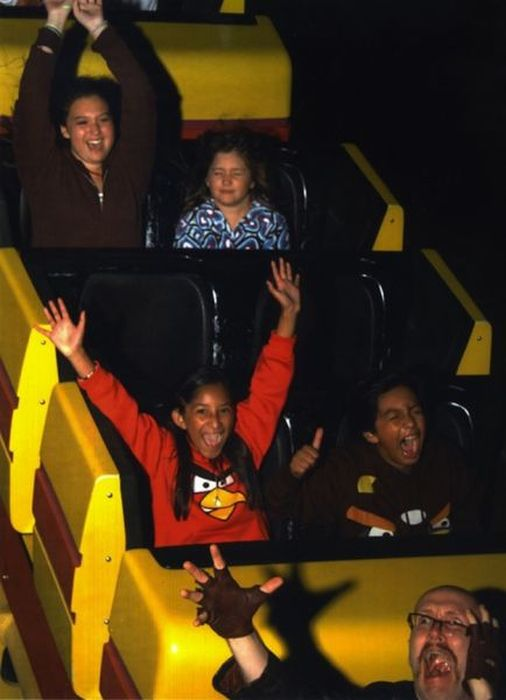 Funny Roller Coaster Photos