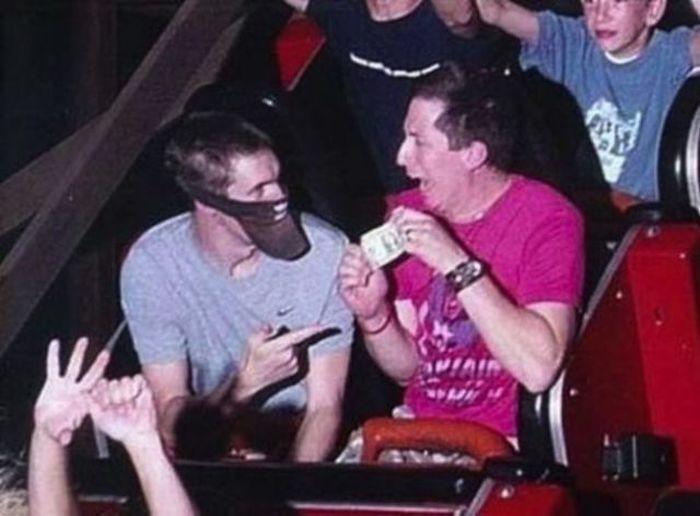 Funny Roller Coaster Photos