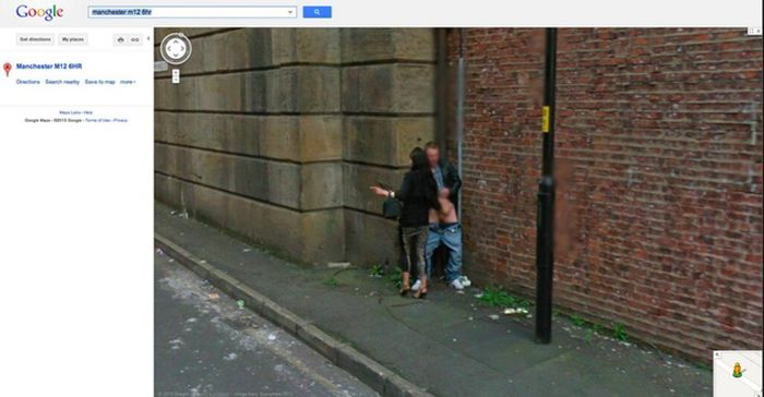 Interesting Google Street View Photos from the UK and Ireland