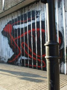 Awesome Street Art by Roa