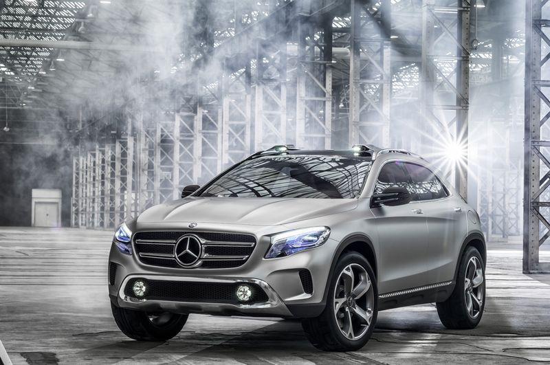 Mercedes-Benz GLA Concept, part 2