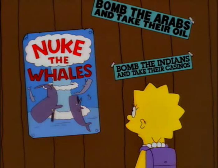 Funny Signs From The Simpsons, part 6