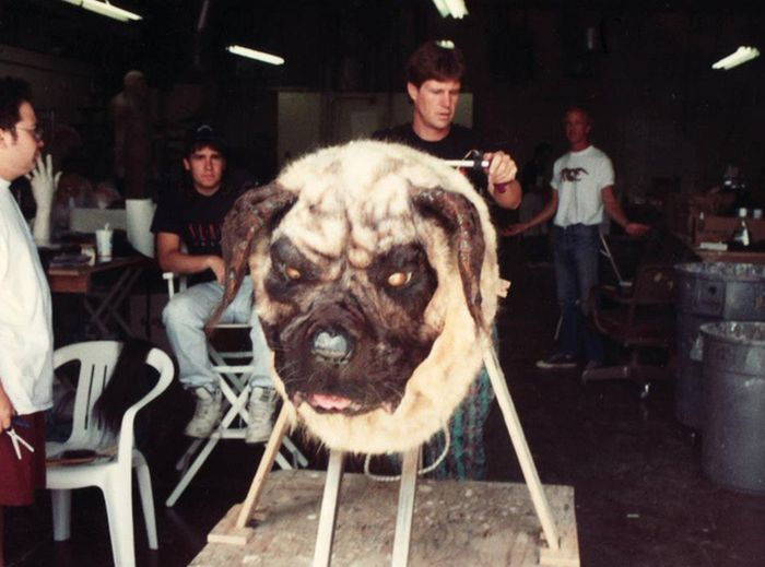 Behind-the-Scenes Monster Movie Photos