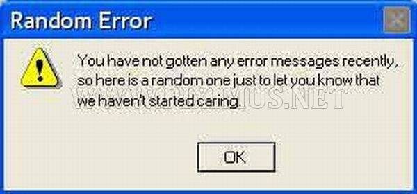 Funny Error Messages
