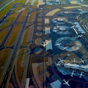 Airports from the sky by Jeffrey Milstein