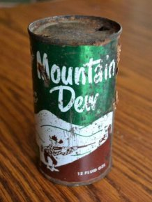 1950's Mountain Dew Can