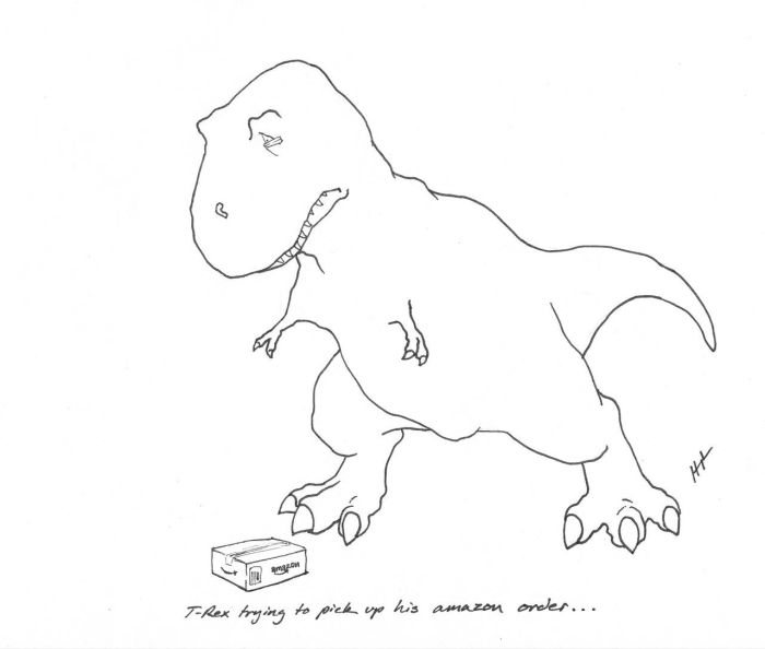 T-Rex Trying..