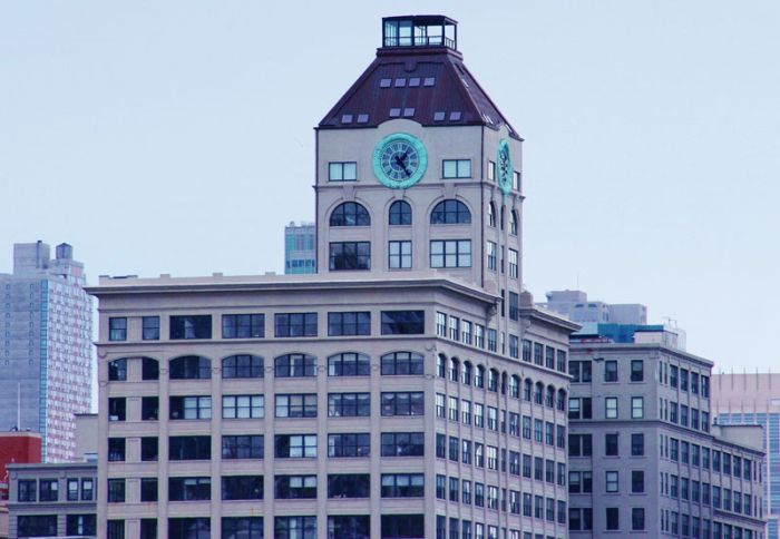 Old Clock Tower Converted Into a Penthouse