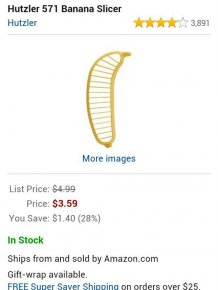 Amazon Banana Slicer Reviews