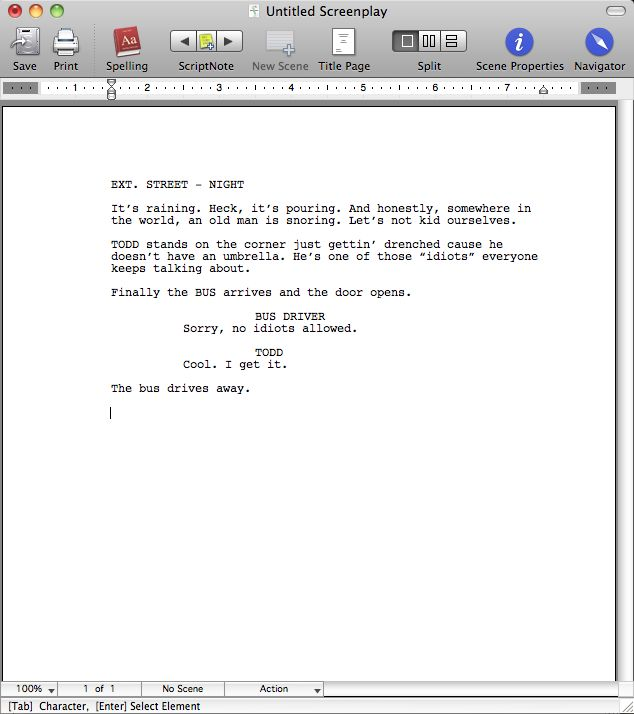 Untitled Screenplays by C.W. Neill