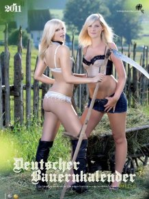 Bauerkalender 2011 - Sexy German Farm Girls Calendar 2011