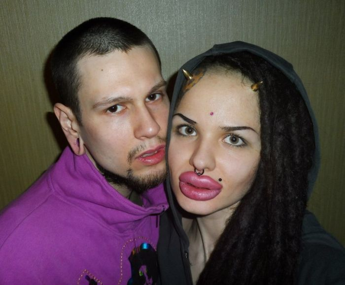 Kristina Rei, Girl with the World's Largest Lips