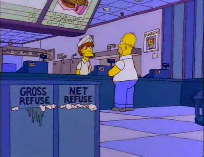 Funny Signs From The Simpsons, part 7