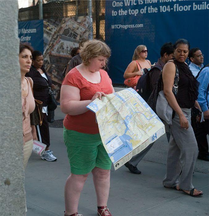 Woman Receives Strange Looks in Public