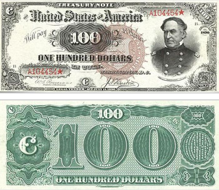 The Evolution Of The $100 Bill