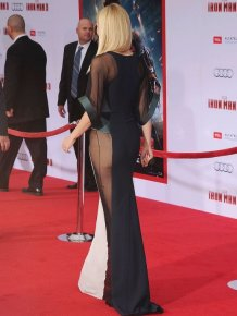 Gwyneth Paltrow's Sexy Dress