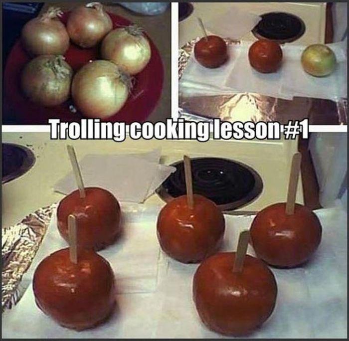 Evil Art of Trolling