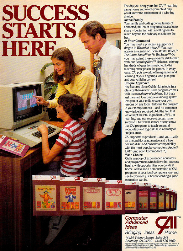 Computers for the little ones in the early 80's