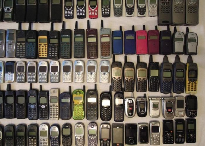 Vintage Cell Phone Сollection
