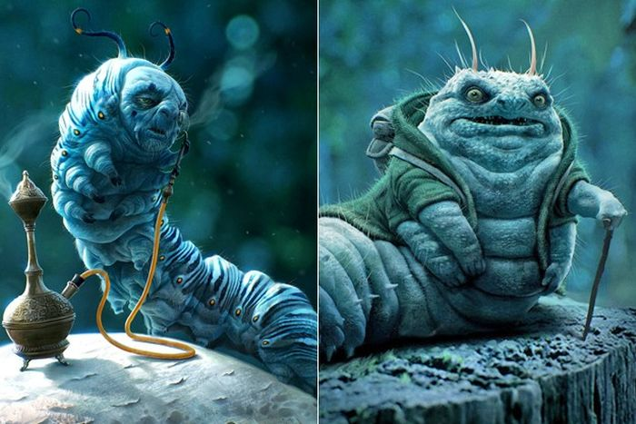 Early Movie Concept Art.