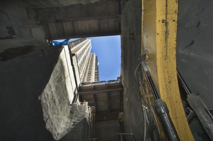 NYC Subway Building