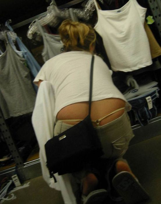 Whale Tail Girl