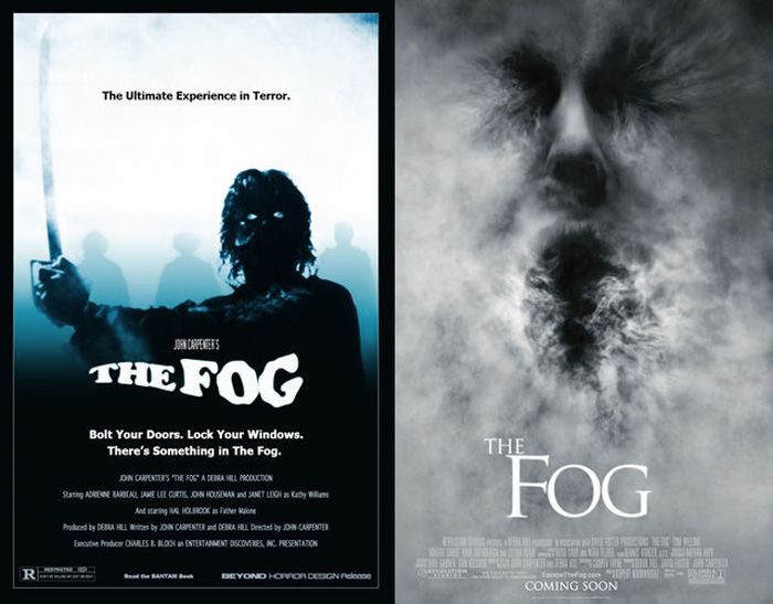 Original Horror Movie Posters vs. Their Remakes
