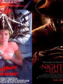 Original Horror Movie Posters vs. Their Remakes