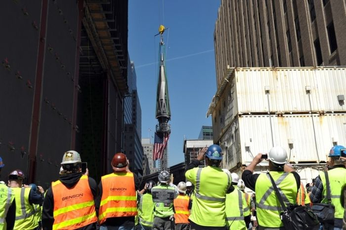 One World Trade Center Is Almost Completed