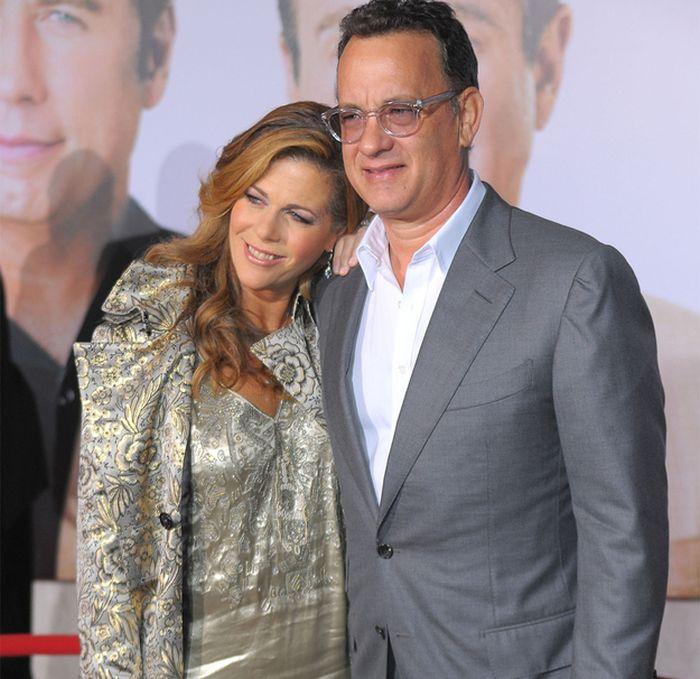 Tom Hanks And Rita Wilson 25 Years Later