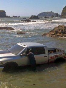 Beach Parking Fail