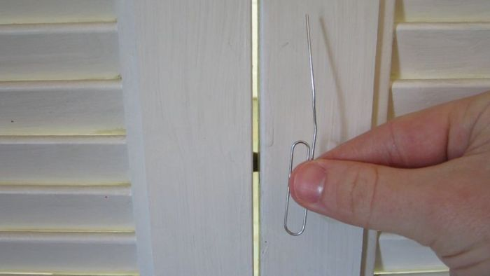 How to Open a Lock with a Paper Clip