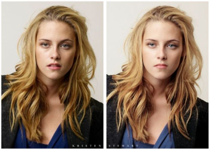 Before and After Photoshop