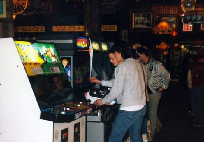 Arcades in the '80s