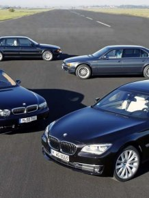 BMW 7-series evolution