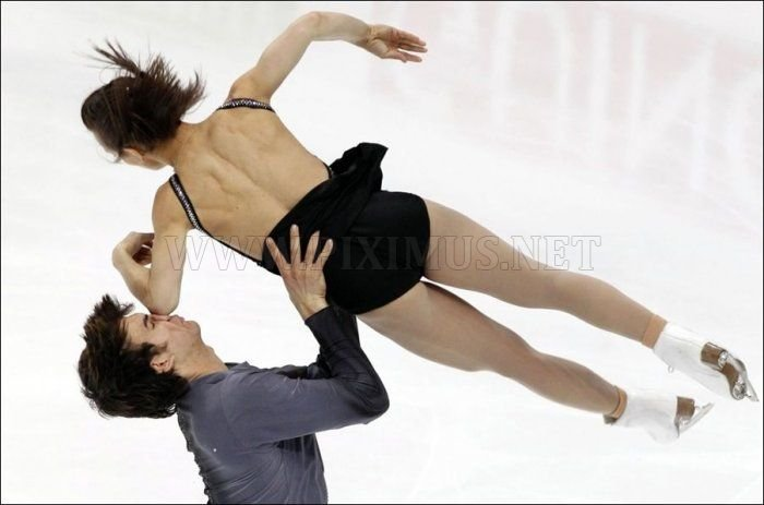 Accident at the Figure Skating Competition in Moscow