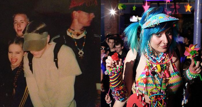 Rave Kids. '90s vs Today