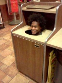 Seen at McDonald's