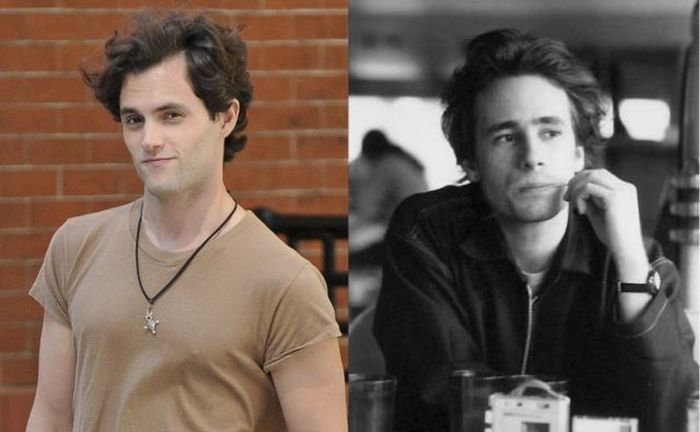 Biopic Film Actors Alongside Their Real-Life Equals