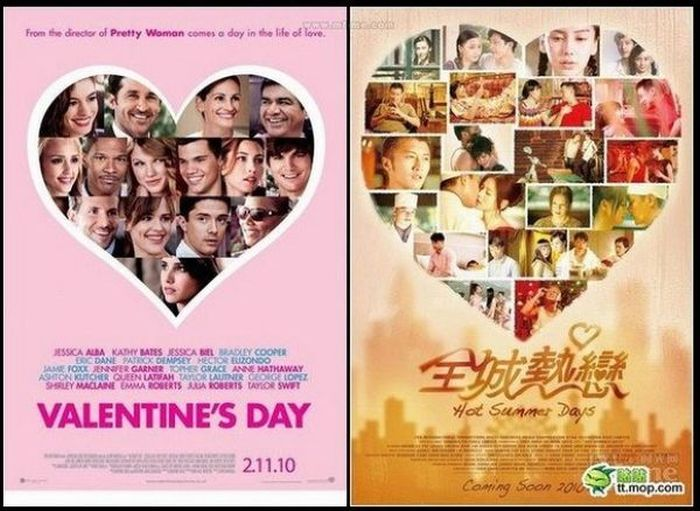 China's Movie Poster Rip-Offs