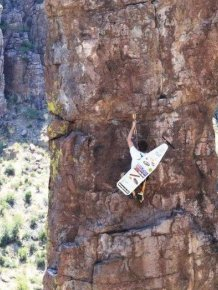 Extreme Ironing at Its Best