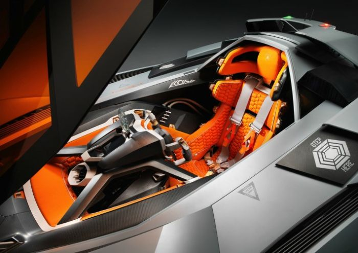 Lamborghini Egoista Vehicles