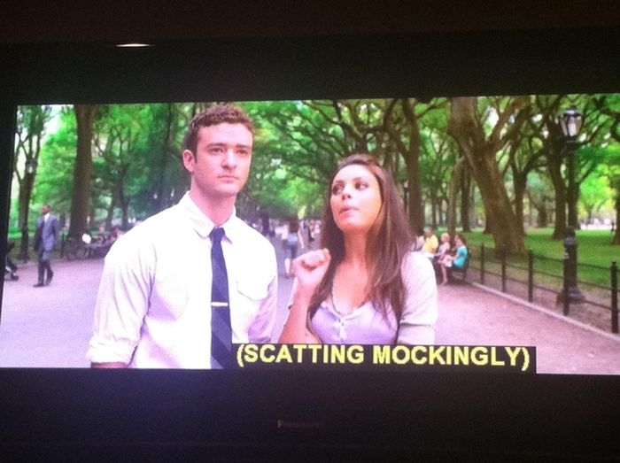 Funny TV Captions