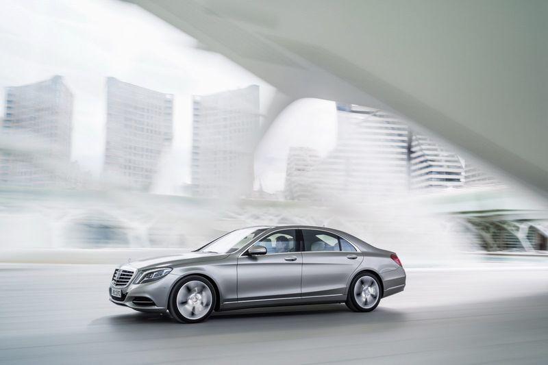 2014 Mercedes-Benz S-class (w222)