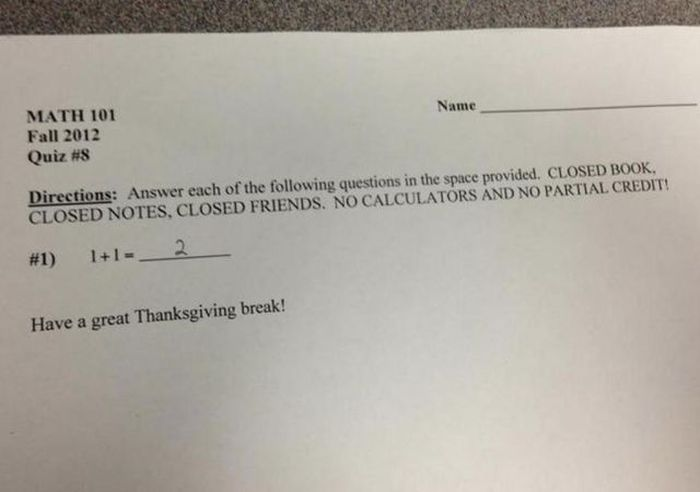 College Professors Have Fun