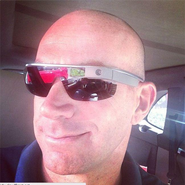People Wearing Google Glass